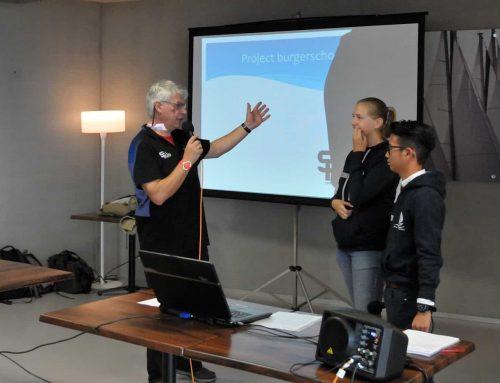 Burgerschool sailing team present op SPIRIT-ual