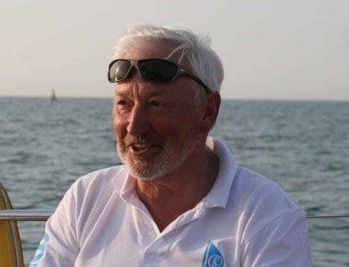 Afscheid van schipper Bert